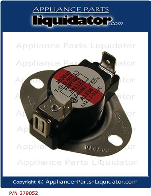 Whirlpool Dryer Thermostat 341195