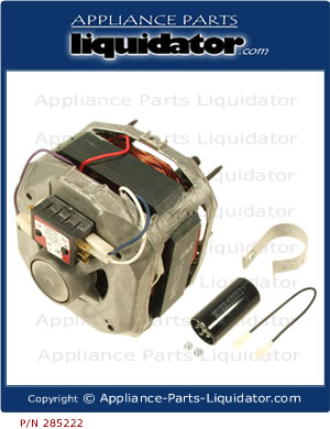 appliance parts liquidator washer motor 285222 rh appliance parts liquidator com Service Tech Sheets Whirlpool Appliances Whirlpool Electric Dryer Diagram